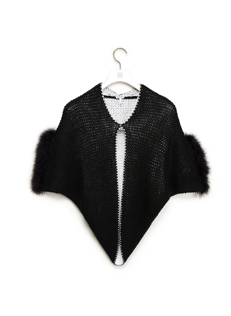 Feather Trim Bolero