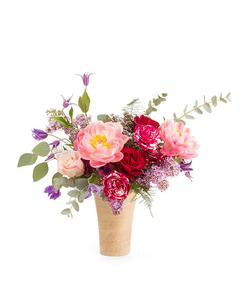 Bouquet & Pot