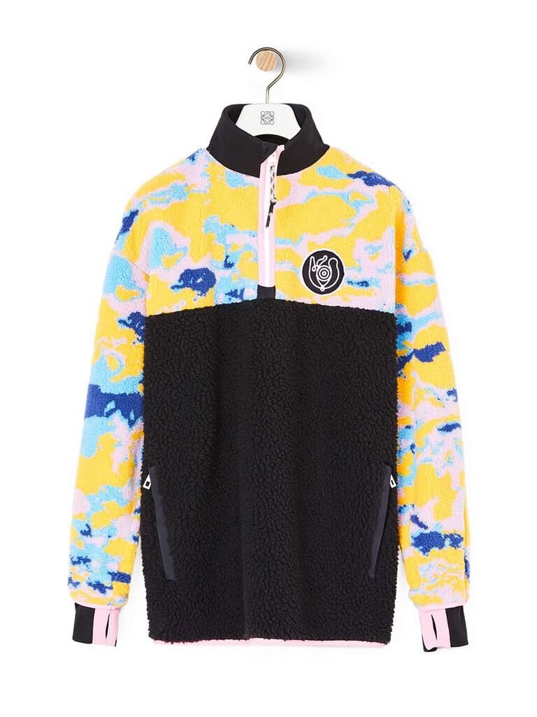 Eye/Loewe/Nature Fleece Zip Sweater