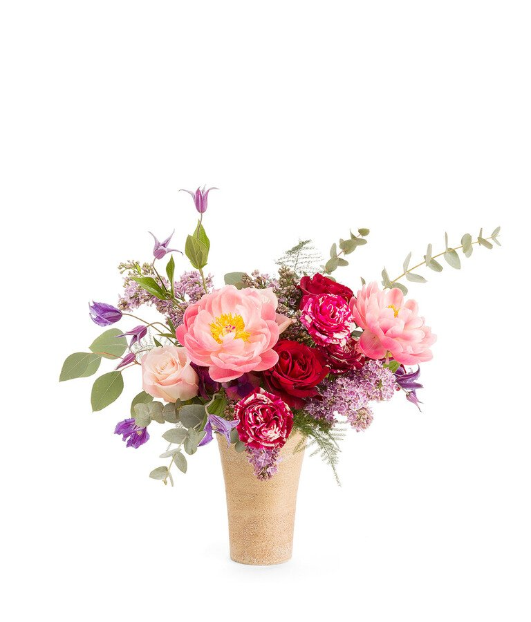 Bouquet & Pot 125€