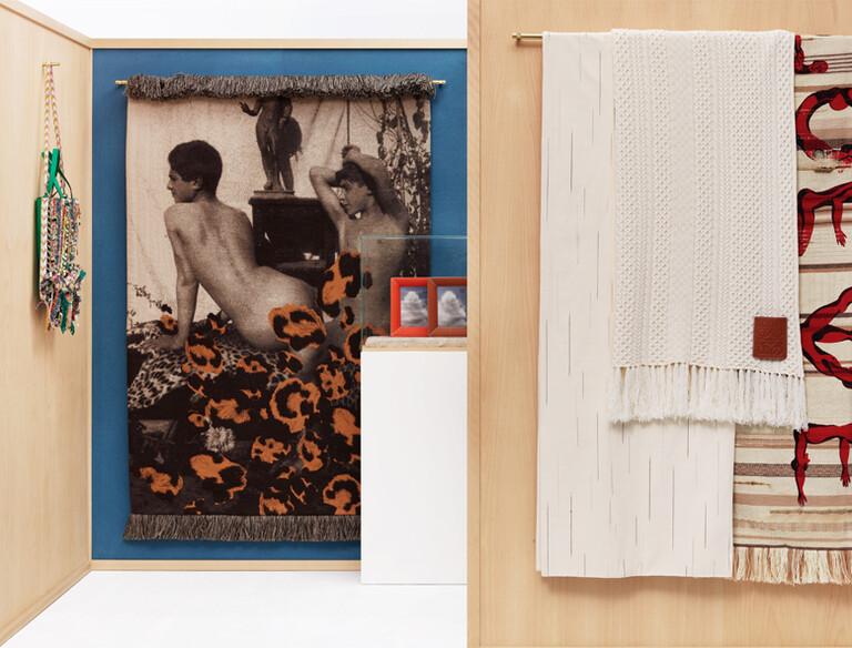LOEWE罗意威毛毯:对全球纺织品工艺的礼赞