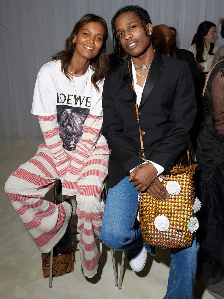 Liya Kebede and Asap Rocky