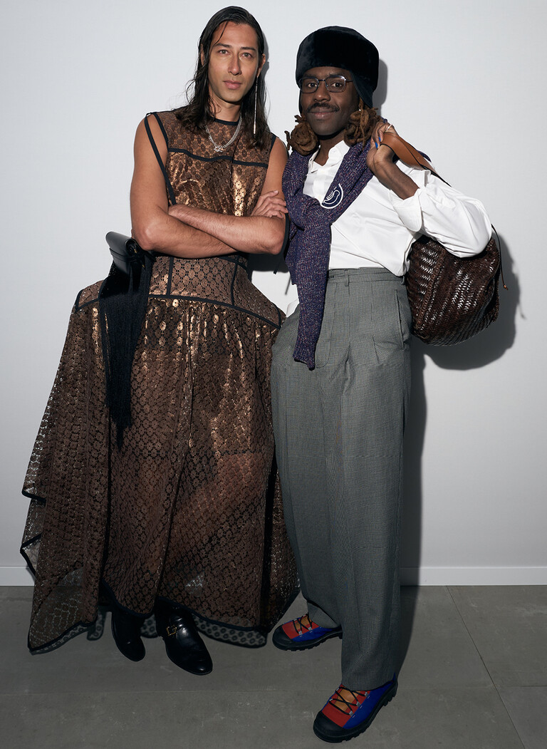 Adam Bainbridge and Dev Hynes