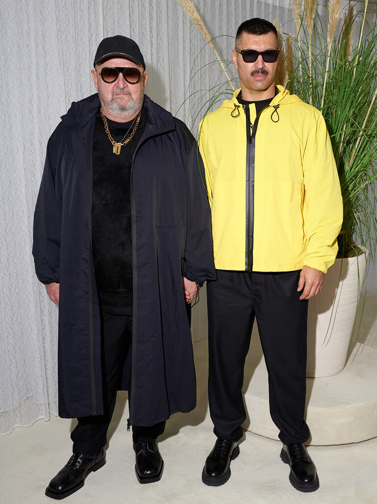 Michel Gaubert and Ryan Aguilar