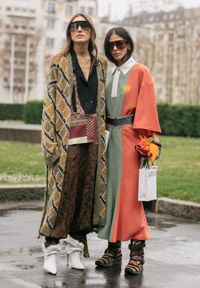 Giorgia Tordini and Gilda Ambrosio