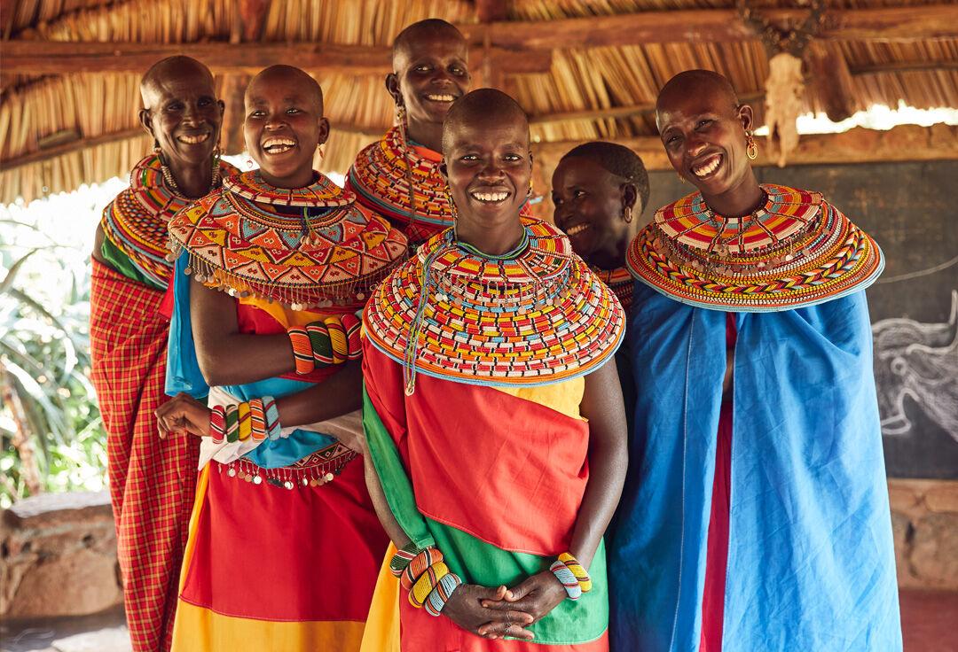 Mujeres de la Samburu Trust