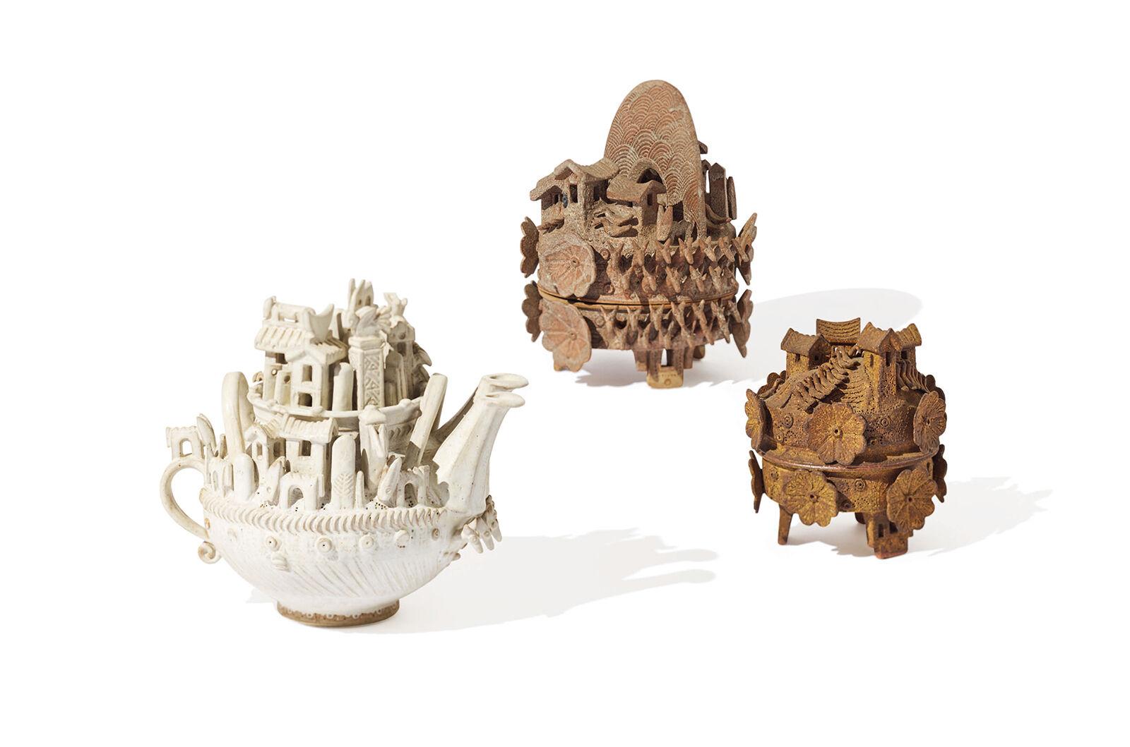 """Monumental Lidded Vessels"""