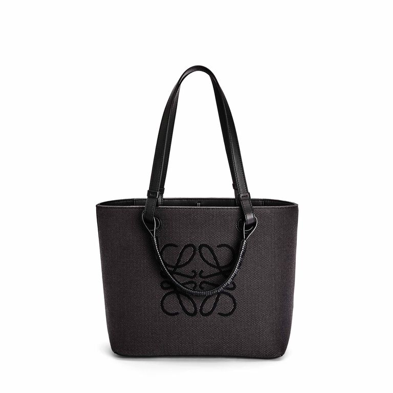 Small Anagram Tote bag in jacquard