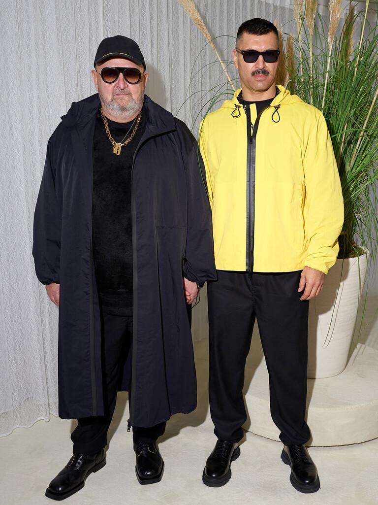 Michel Gaubert and Ryan Aguilar