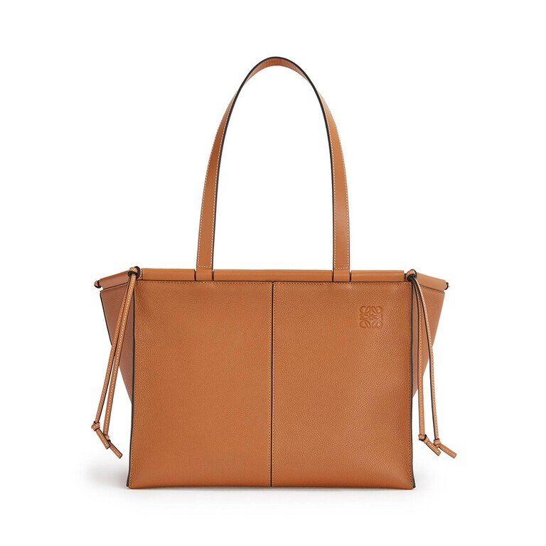 Cushion Leather Tote