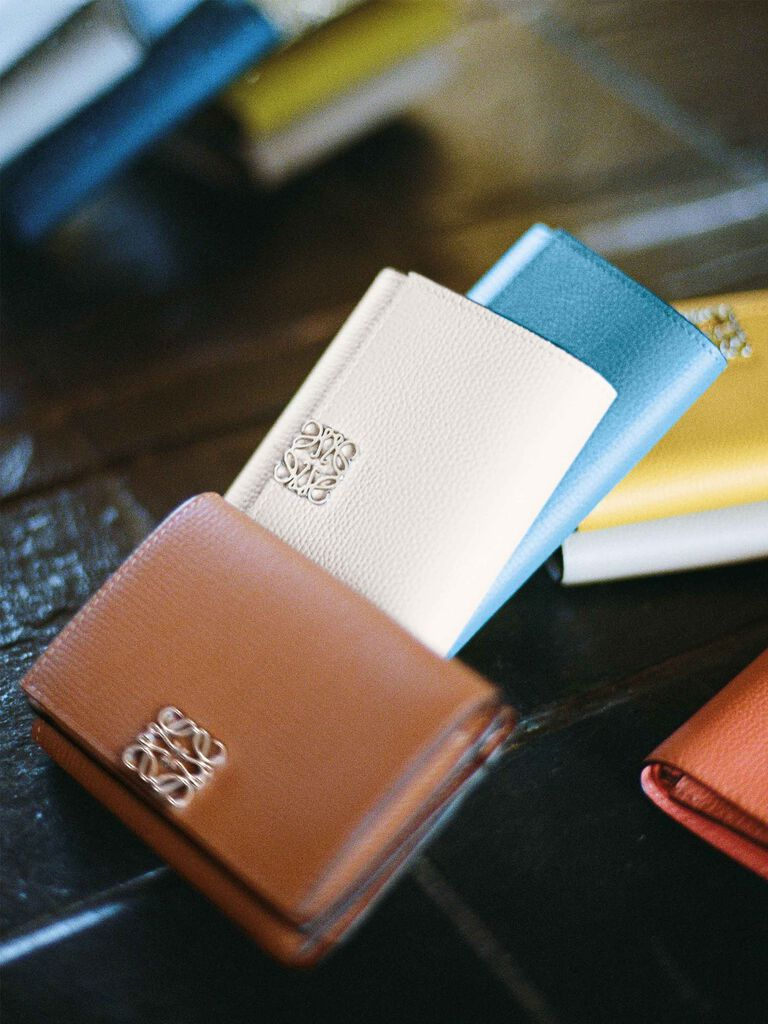 Women wallets and small leather goods