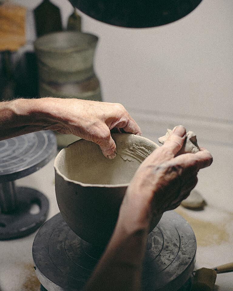 The unique handmade processes of ceramist Jennifer Lee