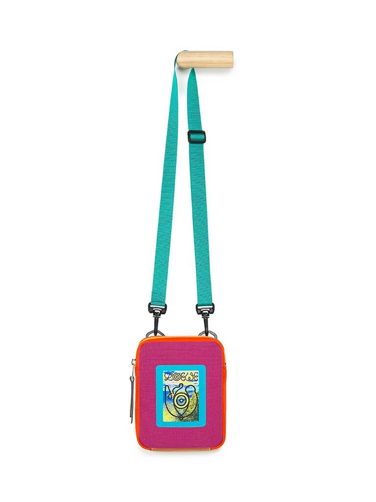 Online Exclusive Eye/Loewe/Nature Crossbody Bag Violet/Orange