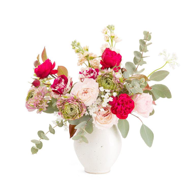 Bouquet y Maceta 125€