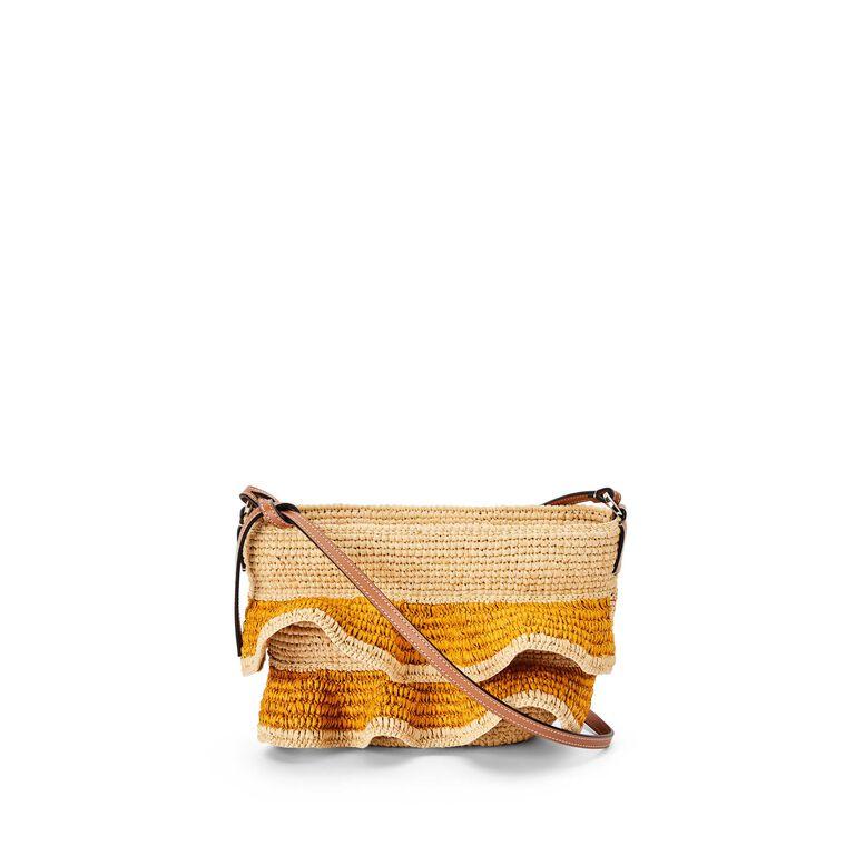 Natural Fibres Pouchette bag