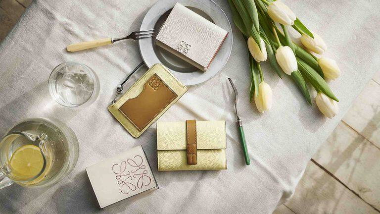 Luxury wallets & small leather goods for women