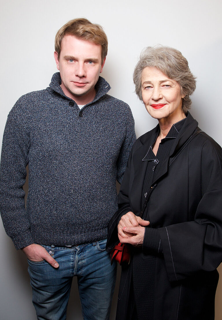 Jonathan Anderson & Charlotte Rampling
