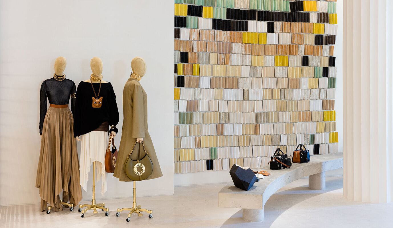 Wander through CASA LOEWE Madrid, our latest flagship store