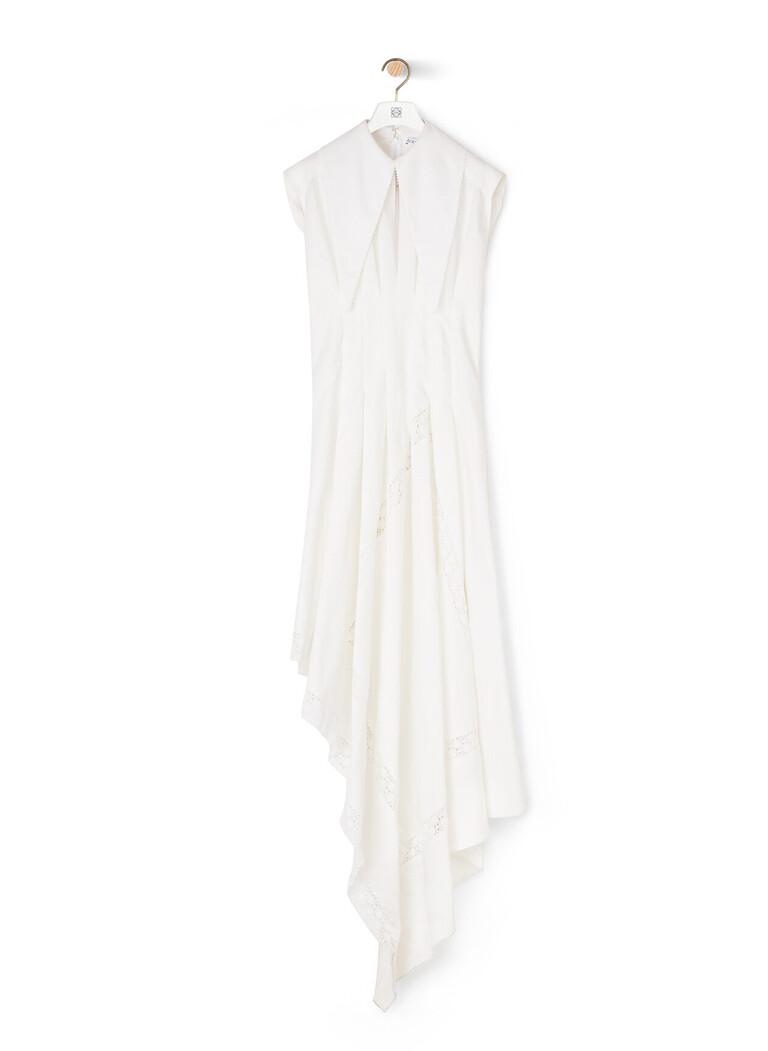 Oversize Collar Dress