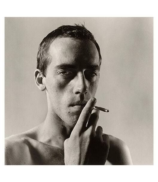 David Wojnarowicz Smoking by Peter Hujar
