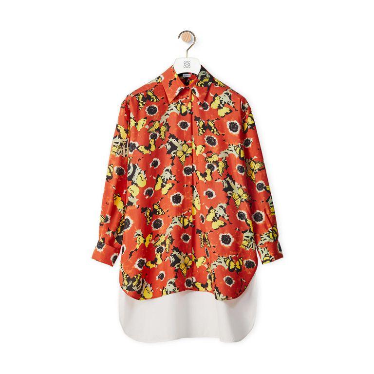 Pansies Oversize Shirt