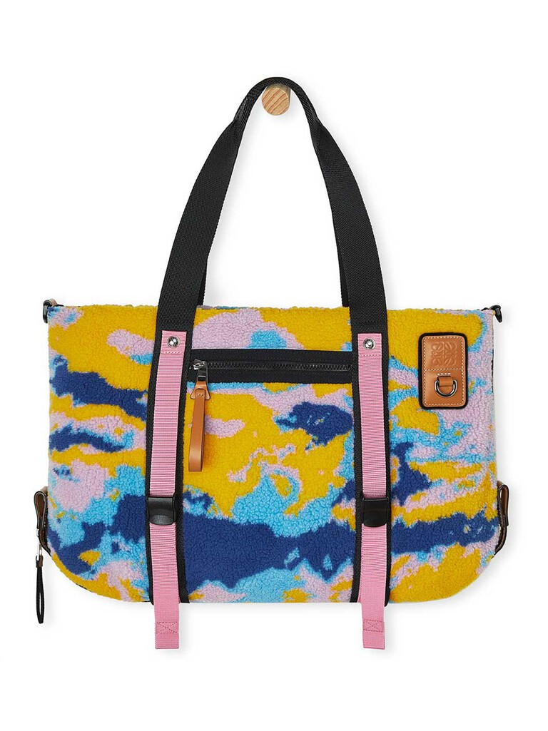 Eye/Loewe/Nature Tote Camouflage Bag