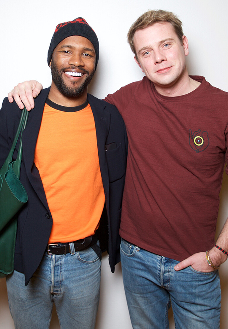 Frank Ocean and Jonathan Anderson