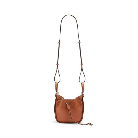 LOEWE Mini Hammock Dw Bag Tan front