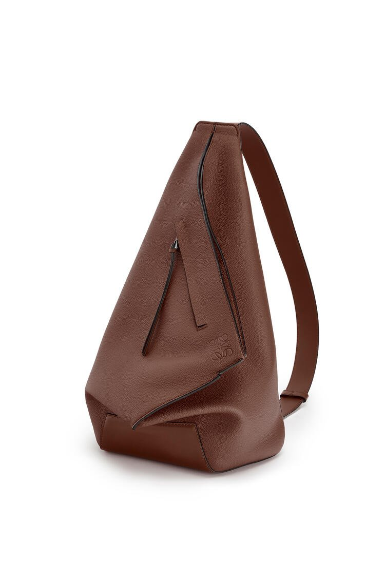 LOEWE Small Anton backpack in soft grained calfskin Cognac pdp_rd