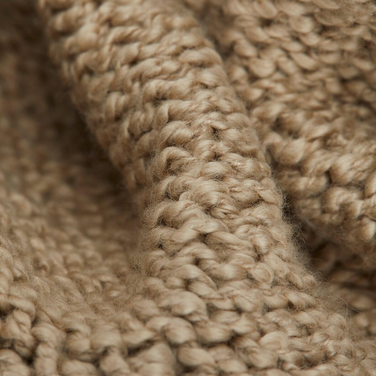 LOEWE Paula Knit Beanie Beige front