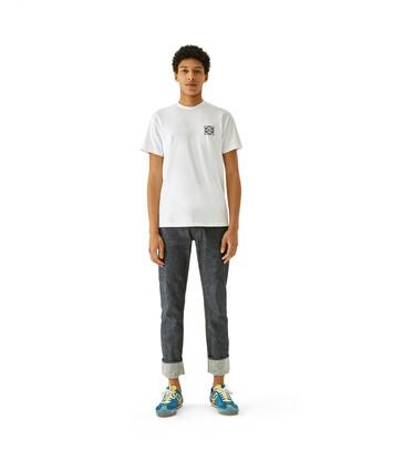 LOEWE Anagram T-Shirt White front