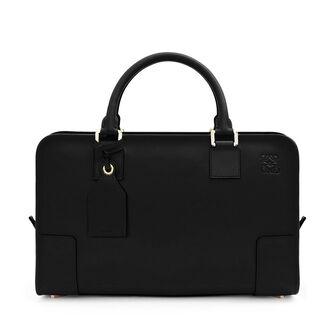 LOEWE Amazona Bag 黑色/金色 front