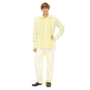 LOEWE Shirt Pompoms Amarillo front