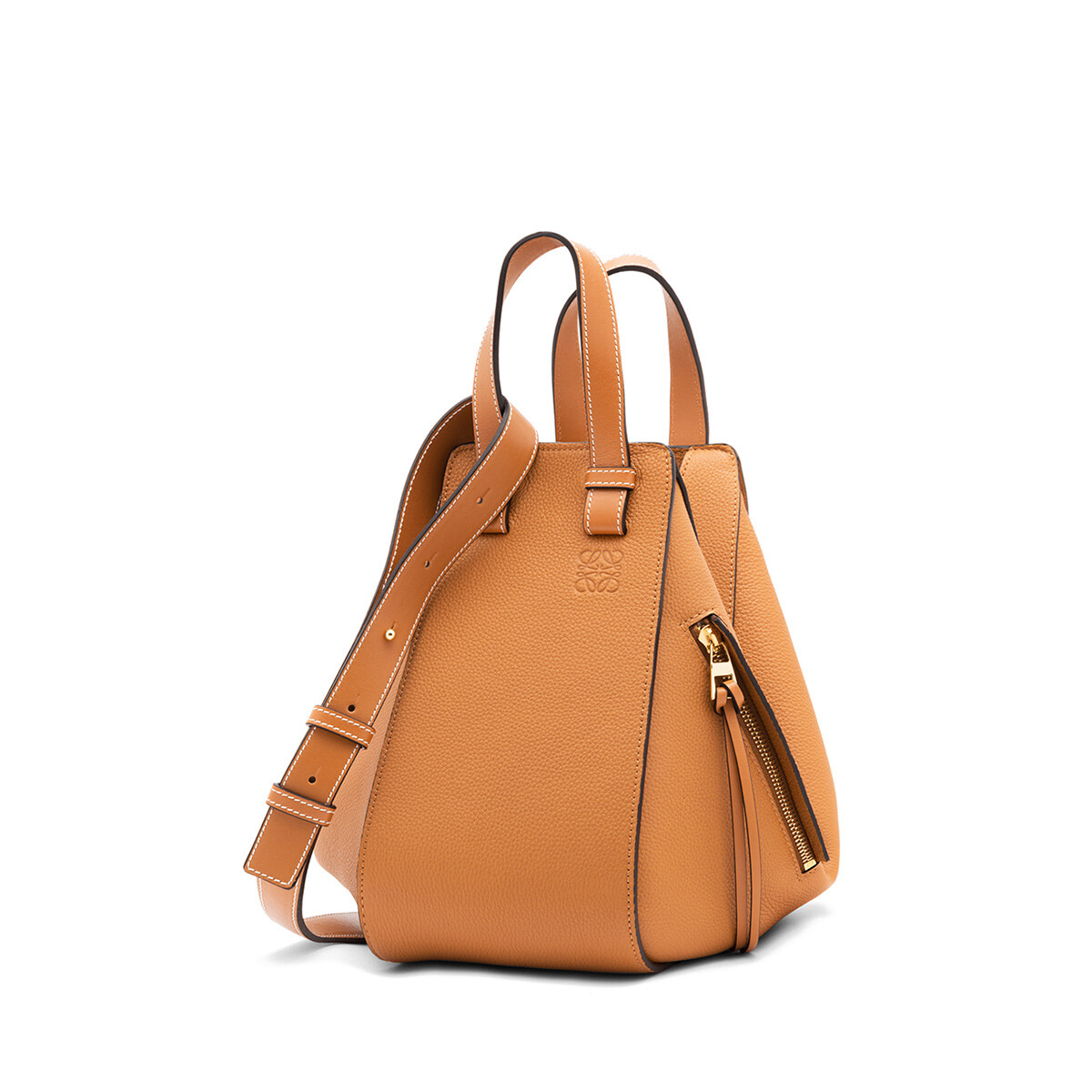 LOEWE Hammock Small Bag Light Caramel front