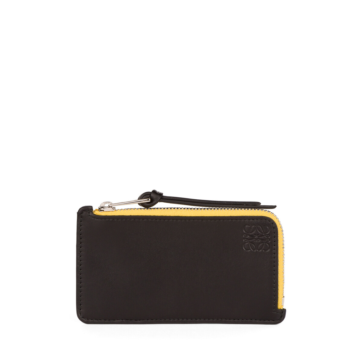 LOEWE Rainbow Coin Cardholder Multicolor/Black front