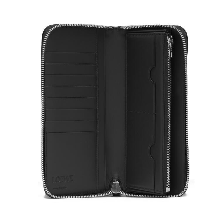 LOEWE Puzzle open wallet in calfskin Black pdp_rd
