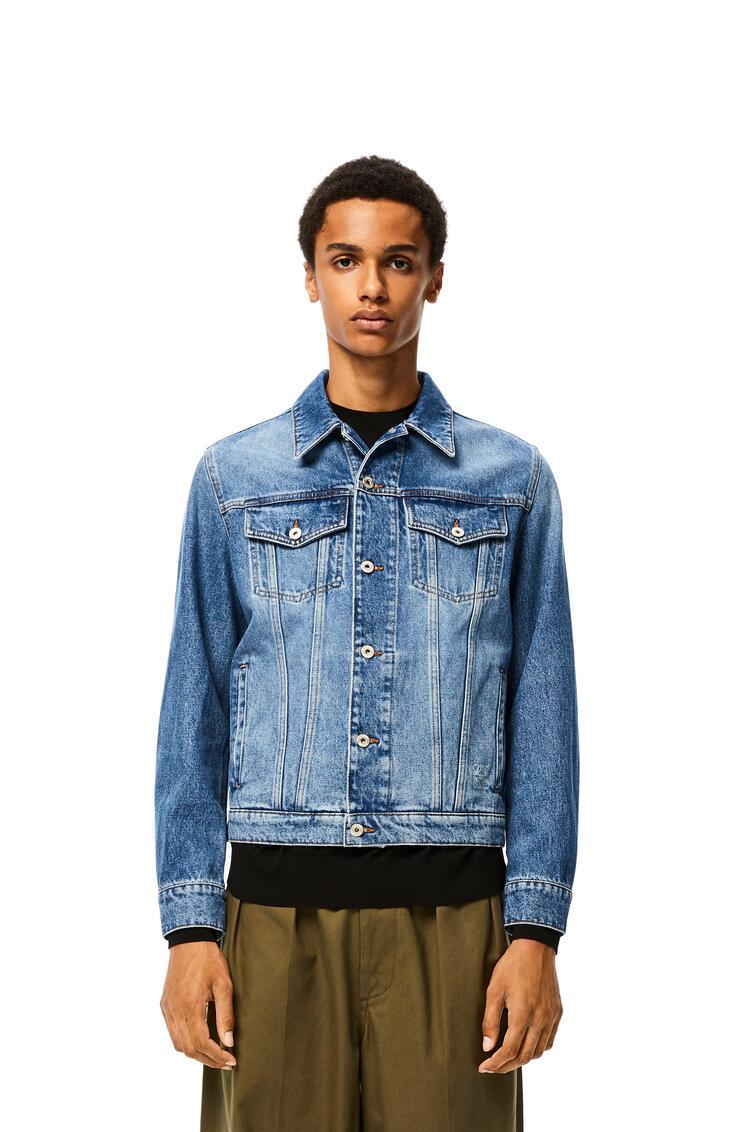LOEWE Jacket In Denim Blue pdp_rd