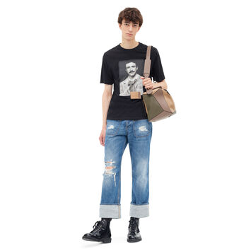 LOEWE T-Shirt Portrait Black front