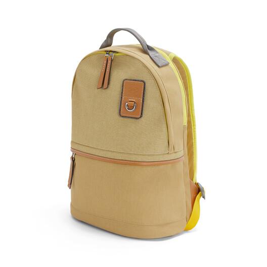 LOEWE Eye/Loewe/Nature Backpack Small Gold front
