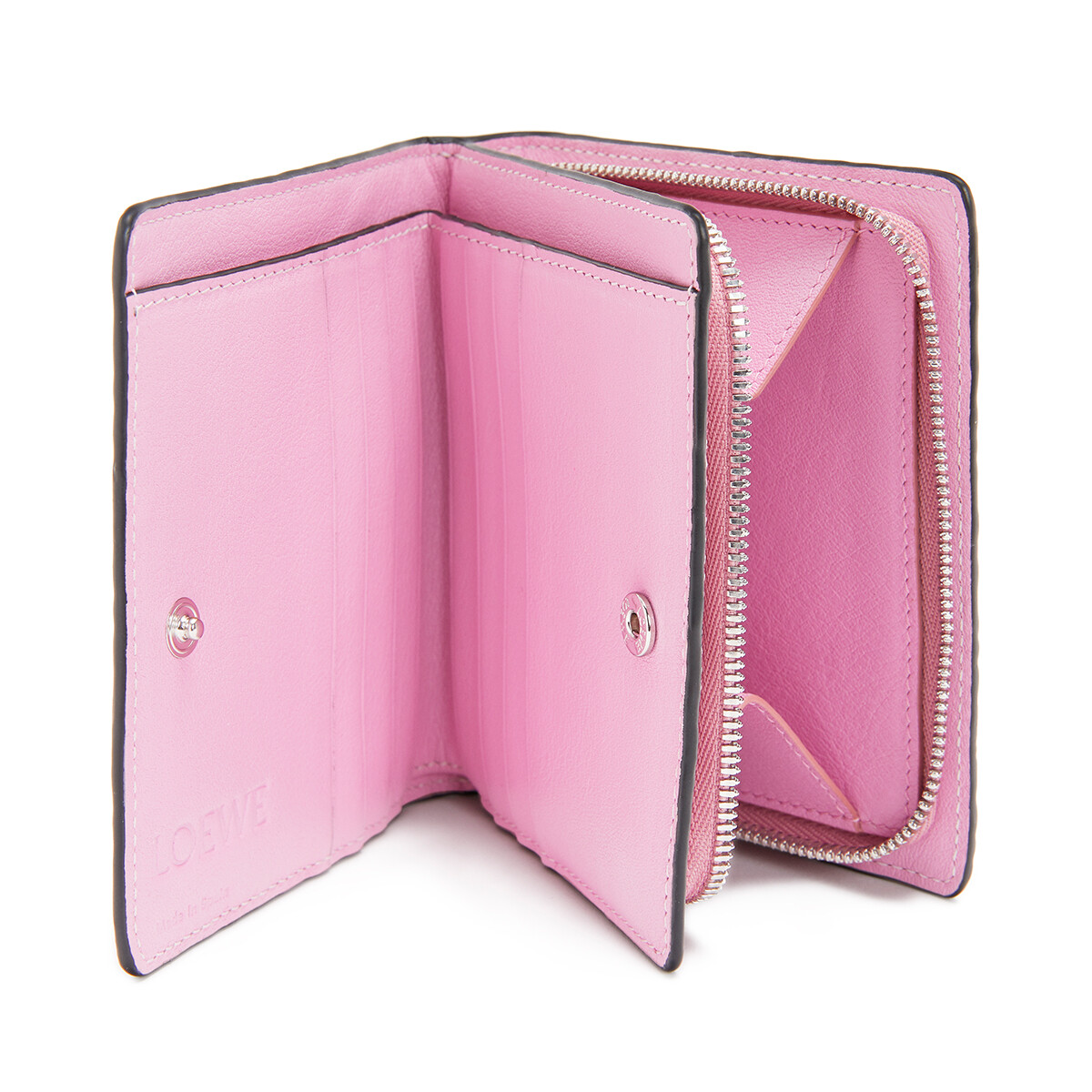 LOEWE Compact Zip Wallet Candy front