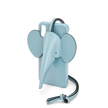 LOEWE Elephant Cover For Iphone X/Xs 淺藍 front