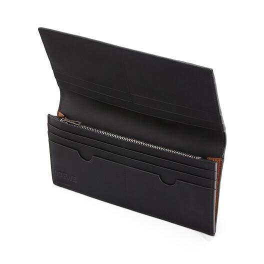LOEWE Puzzle Long Horizontal Wallet Cognac front