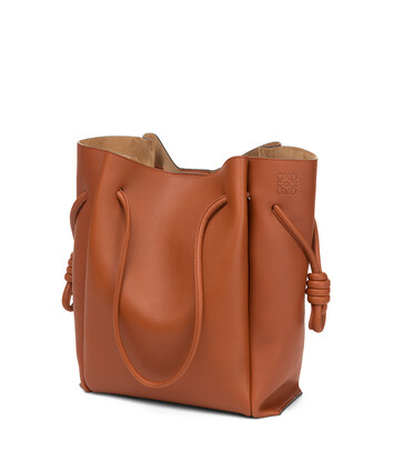 LOEWE Flamenco Knot Tote Color Oxido front
