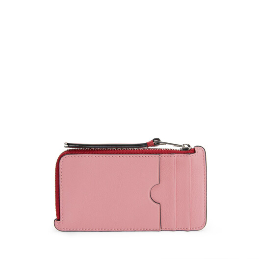 LOEWE Maze Coin/Card Holder Candy/Rouge front