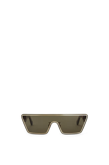 LOEWE Small Mask Sunglasses Moss Green pdp_rd