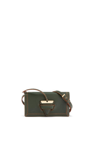 LOEWE Mini Barcelona soft bag in soft grained calfskin Vintage Khaki pdp_rd