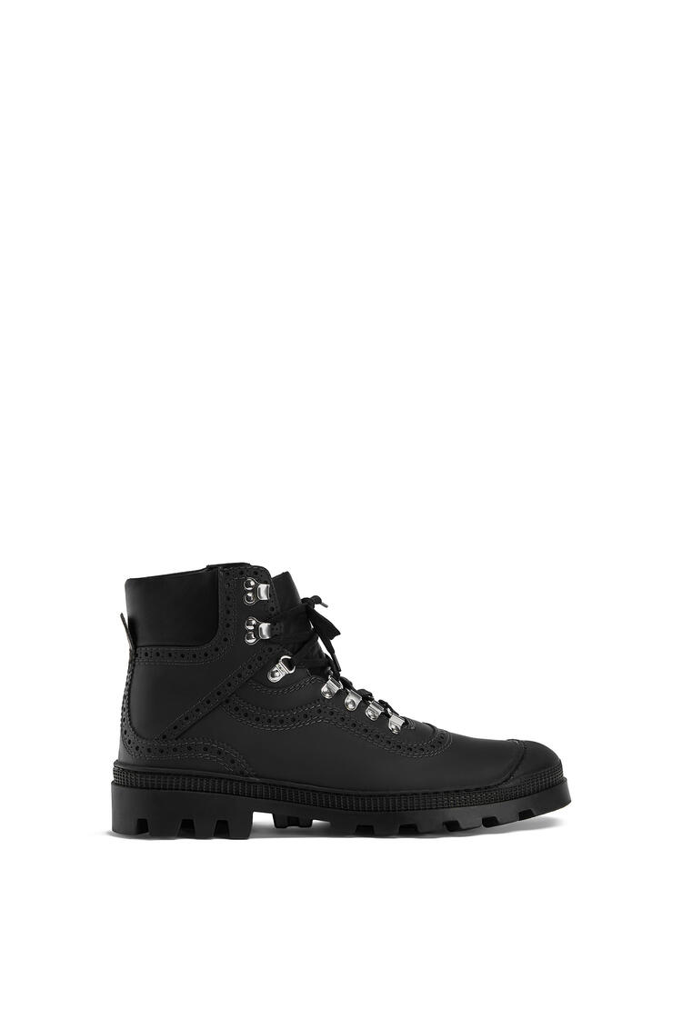 LOEWE Hiking Boot In Calfskin Black pdp_rd