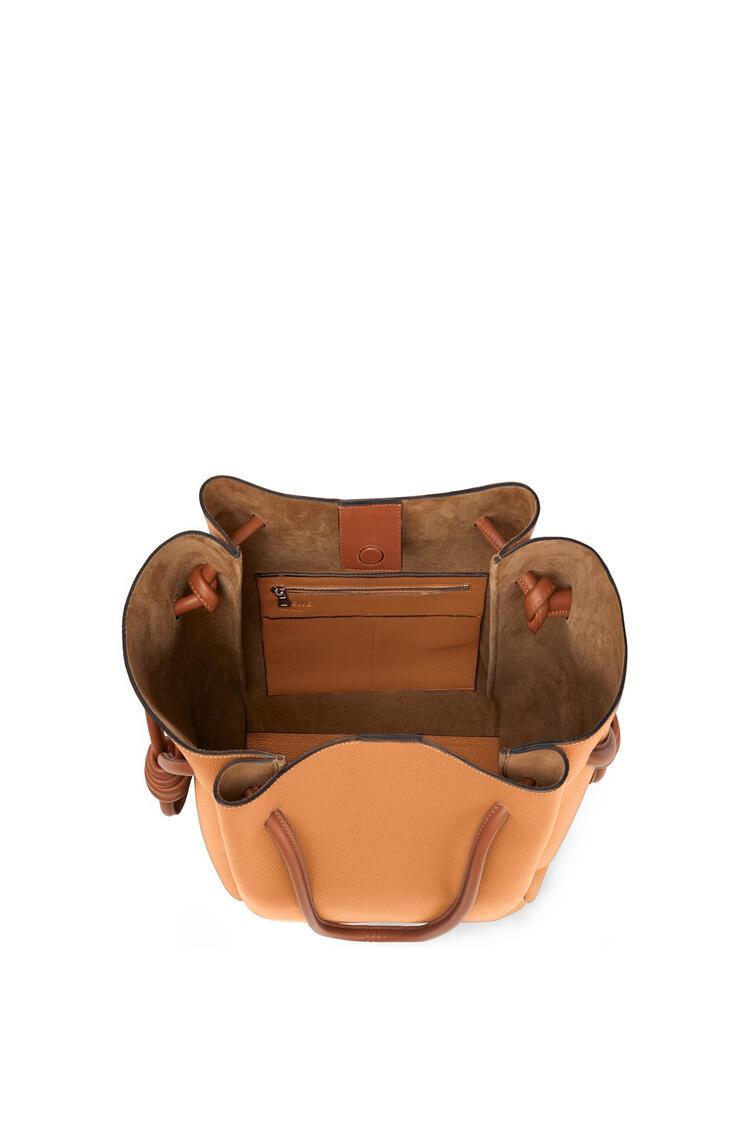 LOEWE Flamenco Knot Tote Bag Light Caramel/Tan pdp_rd