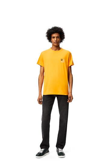 LOEWE Camiseta en algodón con anagrama Naranja pdp_rd