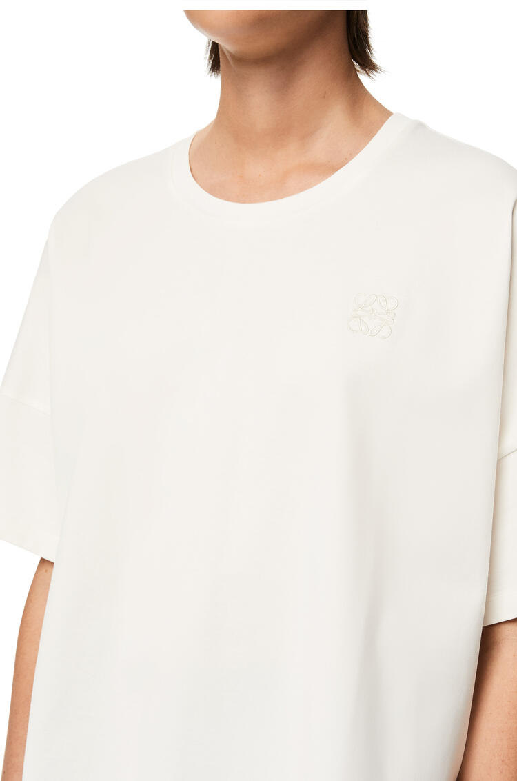 LOEWE Anagram cropped t-shirt in cotton White pdp_rd